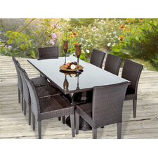 Savings Napa 9 Piece Dining Set