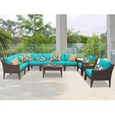 Manhattan 11 Piece Seating Group with Cushion
