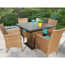 Laguna 5 Piece Dining Set
