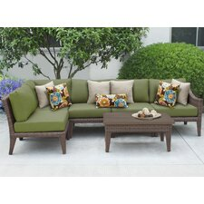 Manhattan 6 Piece Seating Group with Cushion