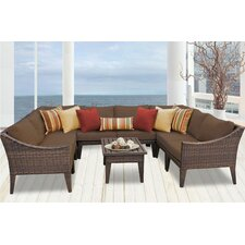Herry Up Manhattan 9 Piece Deep Seating Group with Cushion