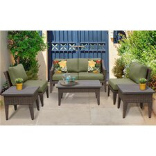 Sale Manhattan 7 Piece Deep Seating Group with Cushion