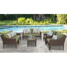 Manhattan 7 Piece Deep Seating Group with Cushion