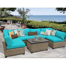 Monterey 7 Piece Deep Seating Group with Cushion