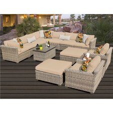 Monterey 13 Piece Deep Seating Group with Cushion