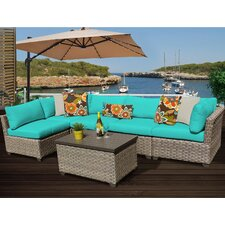 Spacial Price Monterey 6 Piece Deep Seating Group with Cushion