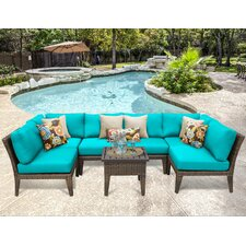 Manhattan 7 Piece Seating Group with Cushion