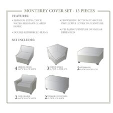Monterey 13 Piece Winter Cover Set