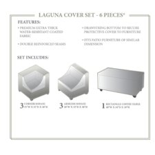 Lovely Laguna 7 Piece Winter Cover Set
