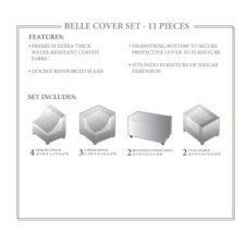 Belle 11 Piece Winter Cover Set