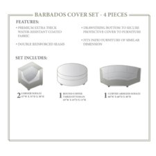 Barbados 4 Piece Winter Cover Set