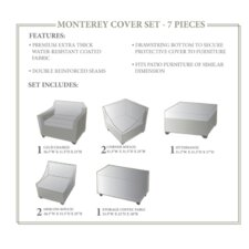 Monterey 7 Piece Winter Cover Set