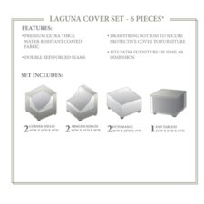 Laguna 7 Piece Winter Cover Set