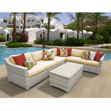 Fairmont 7 Piece Deep Seating Group with Cushion