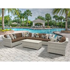 Fairmont 8 Piece Deep Seating Group with Cushion