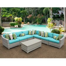 Best  Fairmont 8 Piece Deep Seating Group with Cushion