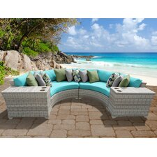 Coupon Fairmont 4 Piece Deep Seating Group with Cushion