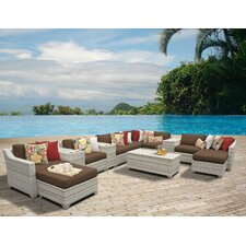2017 Coupon Fairmont 14 Piece Deep Seating Group with Cushion