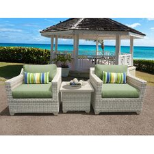 Fairmont 3 Piece Deep Seating Group with Cushion