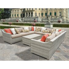 Fairmont 11 Piece Deep Seating Group with Cushion