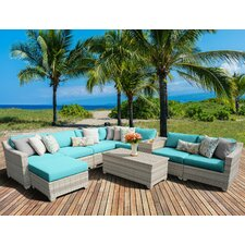 Fairmont 10 Piece Deep Seating Group with Cushion