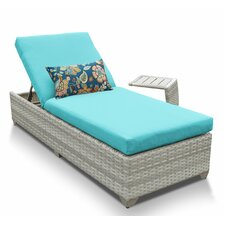Fairmont 2 Piece Chaise Lounge Set with Cushion