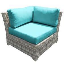 Fairmont Corner Chair with Cushions (Set of 2)