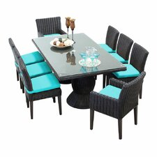 Venice 9 Piece Dining Set with Cushion