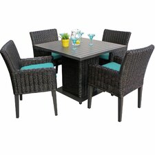 Venice 5 Piece Dining Set with Cushions