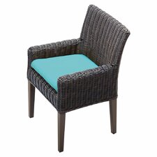 Venice Dining Arm Chair With Cushion (Set of 2) (Set of 2)