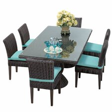Venice 7 Piece Dining Set with Cushions