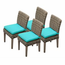 Cape Cod Dining Side Chair with Cushion (Set of 4)