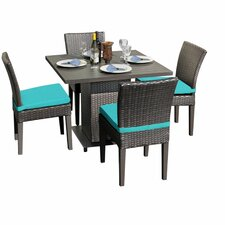 Napa 5 Piece Dining Set with Cushion