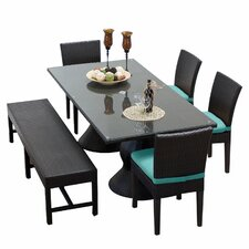 Napa 6 Piece Dining Set with Cushion