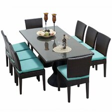 Napa 9 Piece Dining Set with Cushion