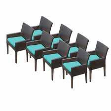 #1 Napa Dining Arm Chair with Cushion (Set of 8)