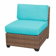 Today Sale Only Laguna Armless Sectional Chair with Cushions