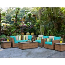 No Copoun Laguna 7 Piece Sofa Seating Group Set