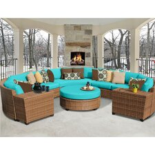 Laguna 8 Piece Deep Seating Group with Cushion