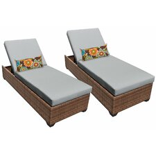 Laguna Chaise Lounge with Cushion (Set of 2)