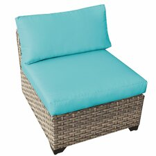 Modern Monterey Armless Chair with Cushion