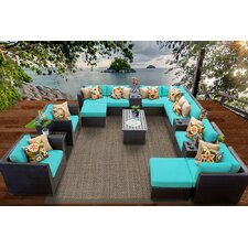 Barbados 17 Piece Seating Group with Cushion