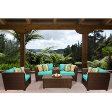 Cool Barbados 6 Piece Seating Group with Cushion