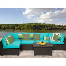 Best Choices Belle 6 Piece Deep Seating Group with Cushion