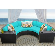Barbados 4 Piece Seating Group with Cushion