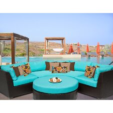 Cool Barbados 4 Piece Deep Seating Group with Cushion