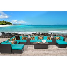Barbados 14 Piece Seating Group with Cushion