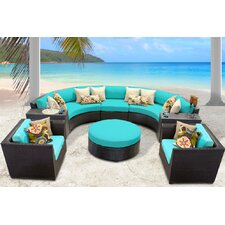 Barbados 8 Piece Seating Group with Cushion