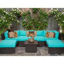 Barbados 7 Piece Seating Group with Cushion