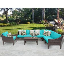 Manhattan 8 Piece Deep Seating Group with Cushion